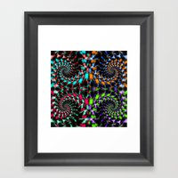 Fractal Art , Swirls And… Framed Art Print