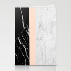 Minimalist Marble Stationery Cards