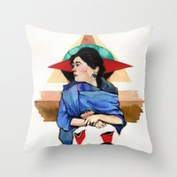 Libra (Zodiac) Throw Pillow