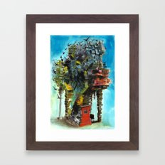 yapı Framed Art Print