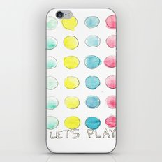 Let´s  play iPhone & iPod Skin