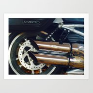 HD V-ROD Art Print