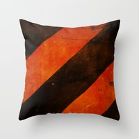 LAST WARNING! Throw Pillow