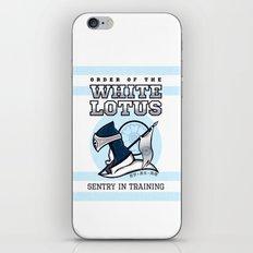 White Lotus in Training iPhone & iPod Skin