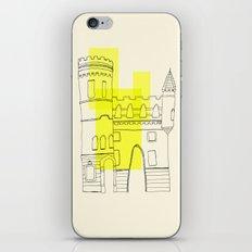 yellow castle iPhone & iPod Skin