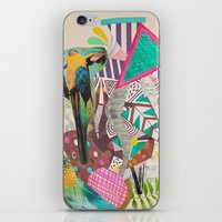 TROPICANA MACAW  iPhone & iPod Skin