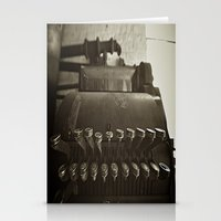 cash is king  Stationery Cards