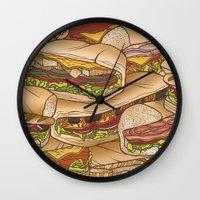 Subs Wall Clock