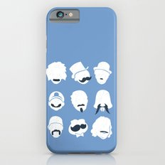 Famous Moustaches blue iPhone 6s Slim Case