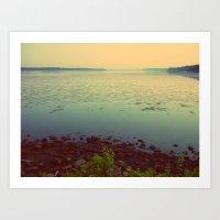 Potomac Art Print