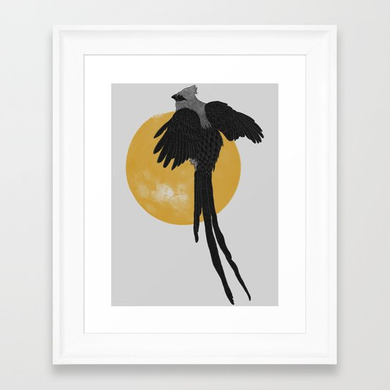Mousebird Framed Art Print