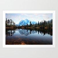 Mt Shuksan Art Print