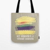 Veggie Burger  Tote Bag