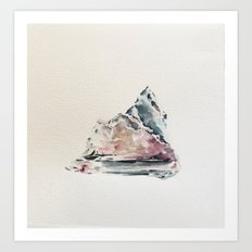 Algae and Ice  Art Print
