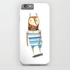 Deer, deer art, deer print, deer illustration, skateboard art, skateboarder,  iPhone 6s Slim Case