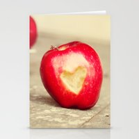 An Apple a Day... Stationery Cards