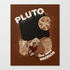 Pluto The Dwarf Planet Canvas Print