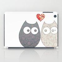 Owl Love iPad Case