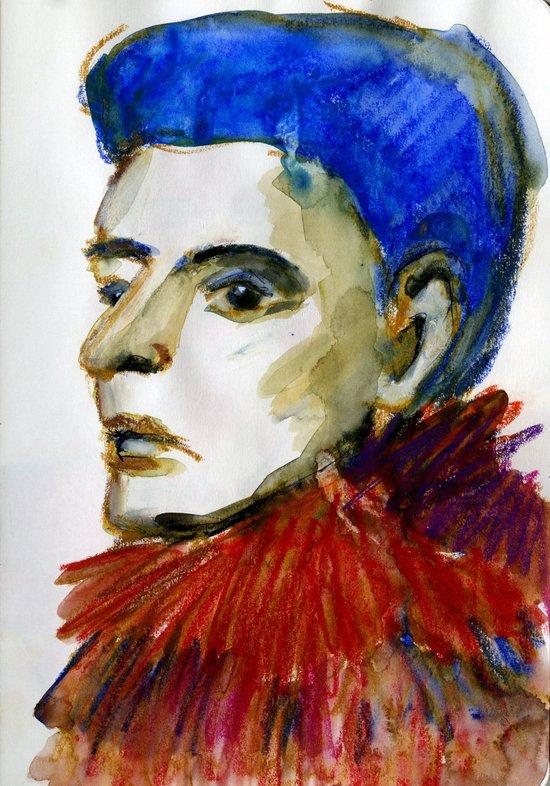 Face 22 Art Print