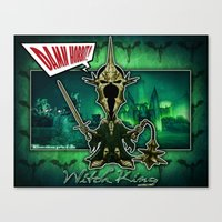 The Witch King concept! Canvas Print
