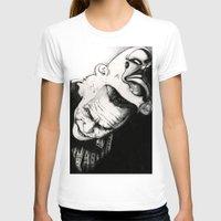 joker T-shirts featuring Joker by Sinpiggyhead