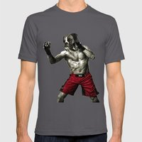 Boxer. The Boxer Fighter… Mens Fitted Tee Asphalt SMALL