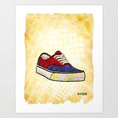 Man I Need Vans - Classic Sneaker Icon Art Print