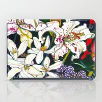 Lilies & Orchids iPad Case