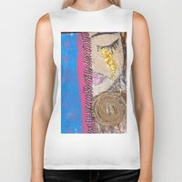 Tears of Gold Biker Tank