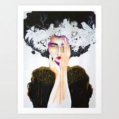 AfroGeisha Art Print
