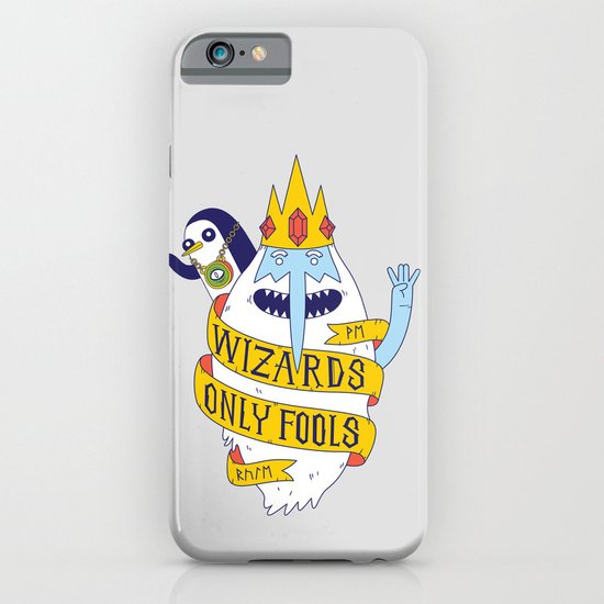 Wizards Only Fools iPhone & iPod Case