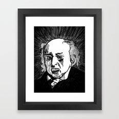 02. Zombie John Adams  Framed Art Print
