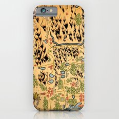 Johto Map iPhone 6 Slim Case