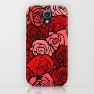 Red Roses Galaxy S4 Slim Case