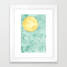 When The Moon Hits Your Eye Framed Art Print