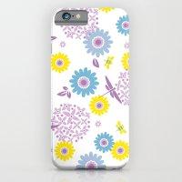 iPhone & iPod Case featuring Summer Buzz by AllisonBeilke