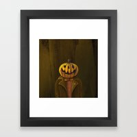 Hi, My Name Is Hall! Framed Art Print