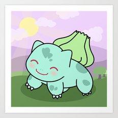 Cute Bulba  Art Print