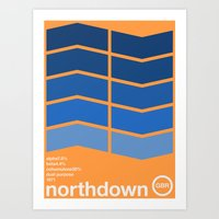 Northdown Single Hop Art Print