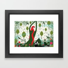 You are a Garden Fountain (by Thereza Rowe) Framed Art Print