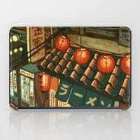 Ramen in the Alley iPad Case