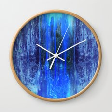 The Sun Is Dripping Down Wall Clock