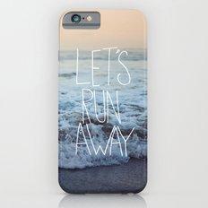Let's Run Away x Arcadia Beach Slim Case iPhone 6s
