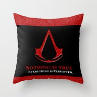 Assassin's Creed Nothing… Throw Pillow