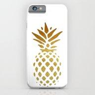 Golden Pineapple iPhone 6 Slim Case