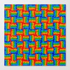 Cristalized Canvas Print