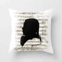Mozart - Dies Irae Throw Pillow