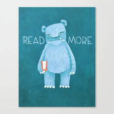 READ MORE BOOKS Canvas Print