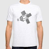 Satellite of Love Mens Fitted Tee Ash Grey SMALL