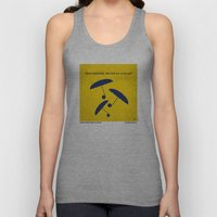 No254 My SINGIN IN THE RAIN minimal movie poster Unisex Tank Top